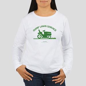 Gump Lawn Service Women's Long Sleeve T-Shirt