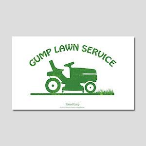 Gump Lawn Car Magnet 20 X 12
