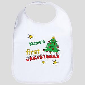 b957361780d First Christmas Baby Bibs - CafePress