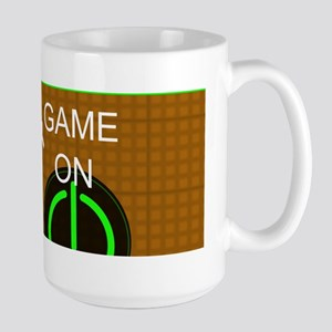 Keep Calm And Game On Mug - Orange Large Mug