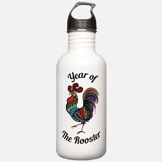 Year of the Rooster Water Bottle