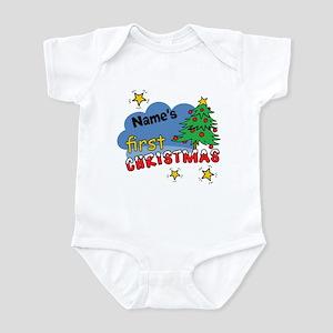 Custom First Christmas Infant Bodysuit
