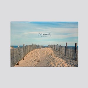 Delaware Beaches - Cape Henlopen. Rectangle Magnet