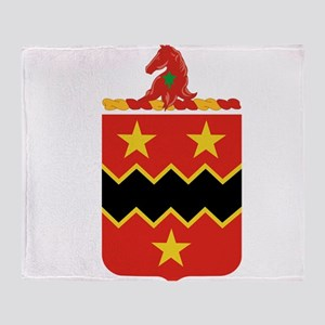 16th Field Artillery Throw Blanket