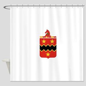 16th Field Artillery Shower Curtain