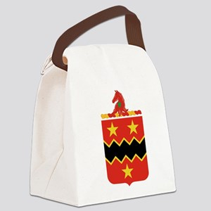 16th Field Artillery Canvas Lunch Bag