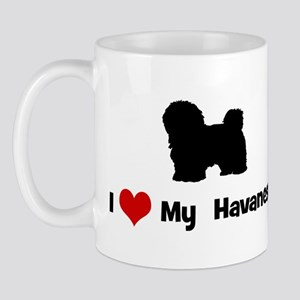 I Love My Havenese Mug