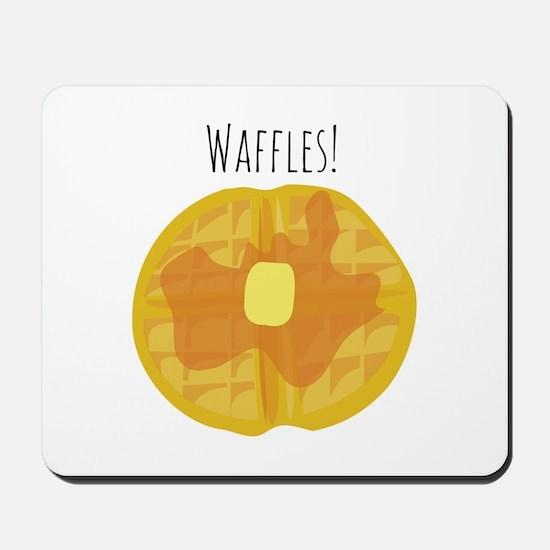 Waffles! Mousepad