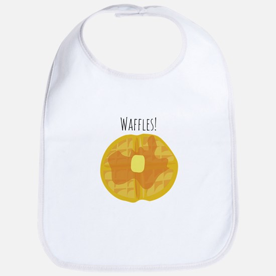 Waffles! Bib