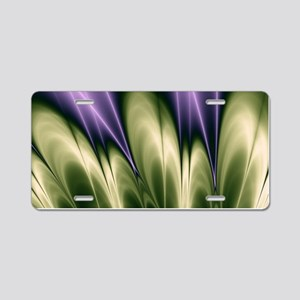 Violet Passion Aluminum License Plate