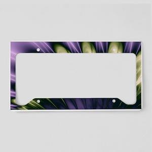 Violet Passion License Plate Holder