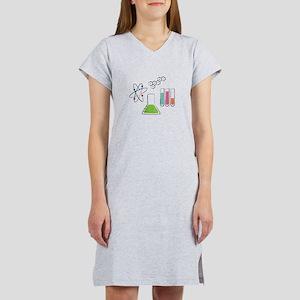 Chemistry Atoms Women's Nightshirt