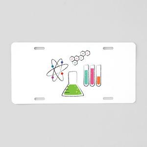 Chemistry Atoms Aluminum License Plate