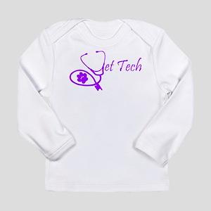 vet tech stethoscope design Long Sleeve T-Shirt