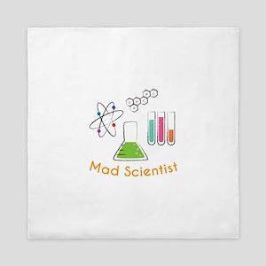 Mad Scientist Queen Duvet