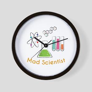 Mad Scientist Wall Clock