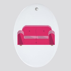 Home Couch Ornament (Oval)