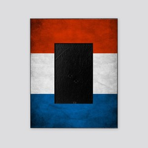 Vintage French Flag Picture Frame