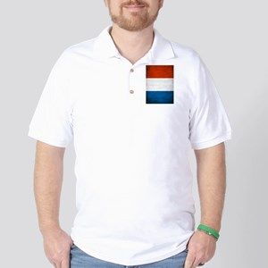 Vintage French Flag Golf Shirt