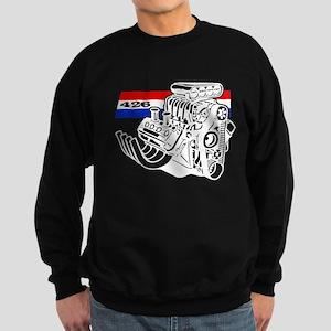 426 HEMI Blown V8 Engine Sweatshirt