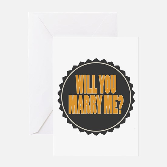 Marry ME Greeting Cards