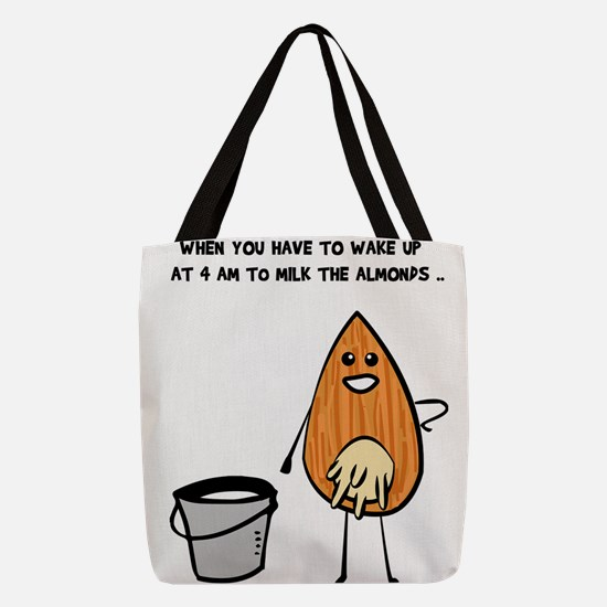 Vegan Milk Polyester Tote Bag