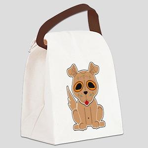 Sugar Puppy - Color Canvas Lunch Bag