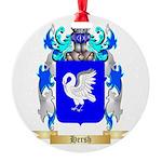 Hersh Round Ornament