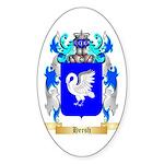 Hersh Sticker (Oval 50 pk)