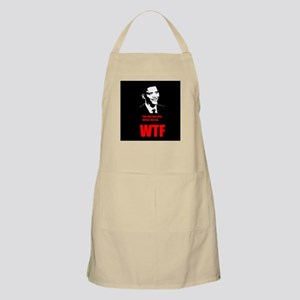 The only man that makes you say WTF Apron