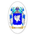 Herscowitz Sticker (Oval 50 pk)