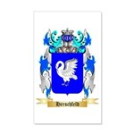 Herschfeld 35x21 Wall Decal