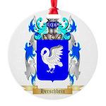 Herschbein Round Ornament
