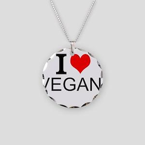 I Love Vegans Necklace