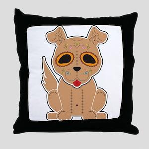Sugar Puppy - Color Throw Pillow