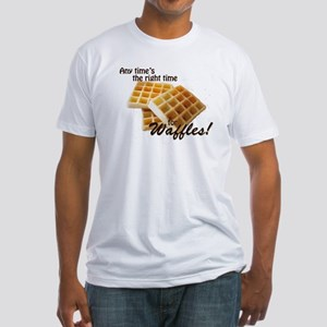 Waffles Fitted T-Shirt