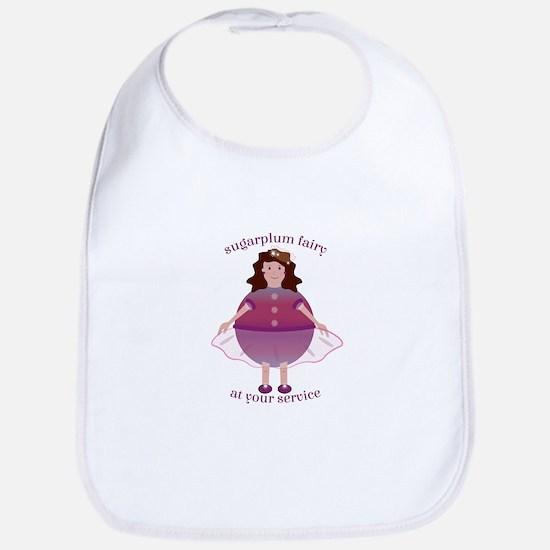 Sugarplum Fairy Bib