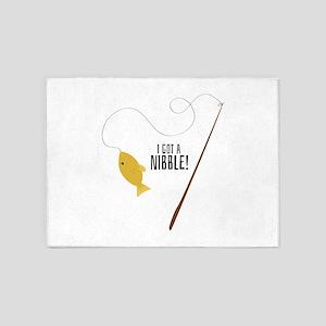 Nibble Pole 5'x7'Area Rug