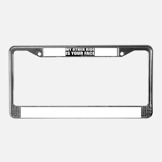 Funny Rock and roll License Plate Frame