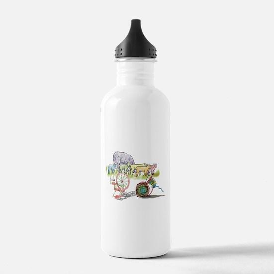 Cute Yarn Water Bottle