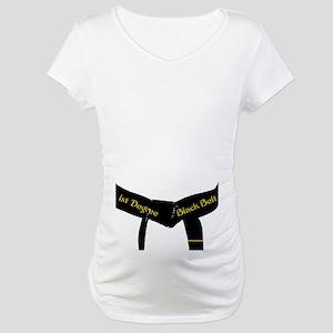 Martial Arts 1st Degree Black Maternity T-Shirt