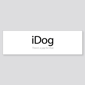 iDog - There's a Yap for That Sticker (Bumper)