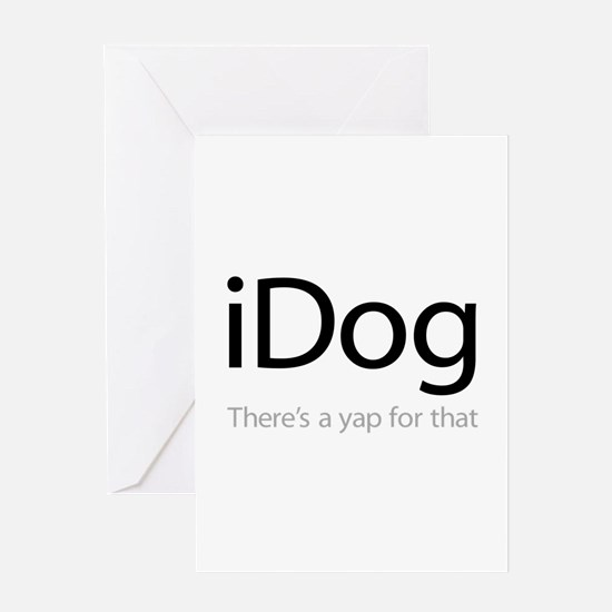 iDog - There's a Yap for That Greeting Card
