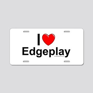 Edgeplay Aluminum License Plate