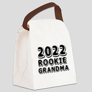 2018 Rookie Grandma Canvas Lunch Bag