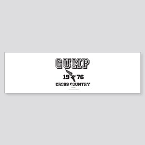 Gump Cross Country Bumper Sticker
