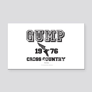 Gump Cross Country Rectangle Car Magnet
