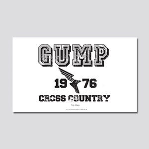 Gump Cross Country Car Magnet 20 X 12