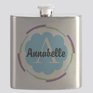 Personalized Name Monogram Gift Flask