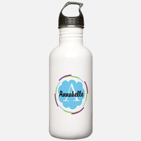 Personalized Name Monogram Gift Water Bottle